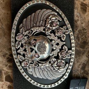 Harley Davison Willy G belt buckle